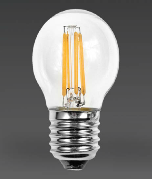 4w Golf Ball Filament LED Bulb
