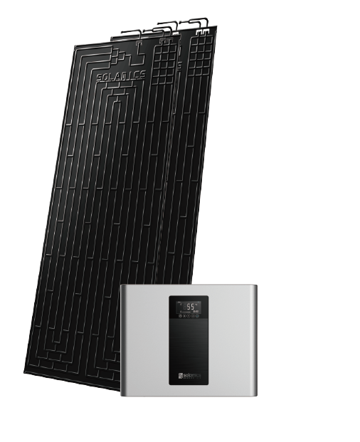Bunsen Thermodynamic Solar Panel System
